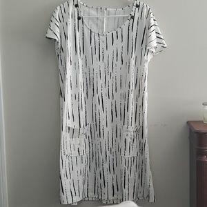 Over sized smock dress NWOT
